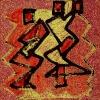 Михаил Чекалин. Фигуры на абстрактном (1990-е)