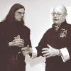 "2007 Михаил Чекалин и художник Александр Куркин (Москва, галерея ""Марс"")"