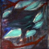 Михаил Чекалин. Психоделический натюрморт с зеленым (1980-е)